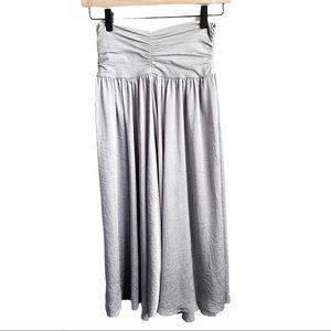 Cabi Convertible Silver Ballet Dress Skirt
